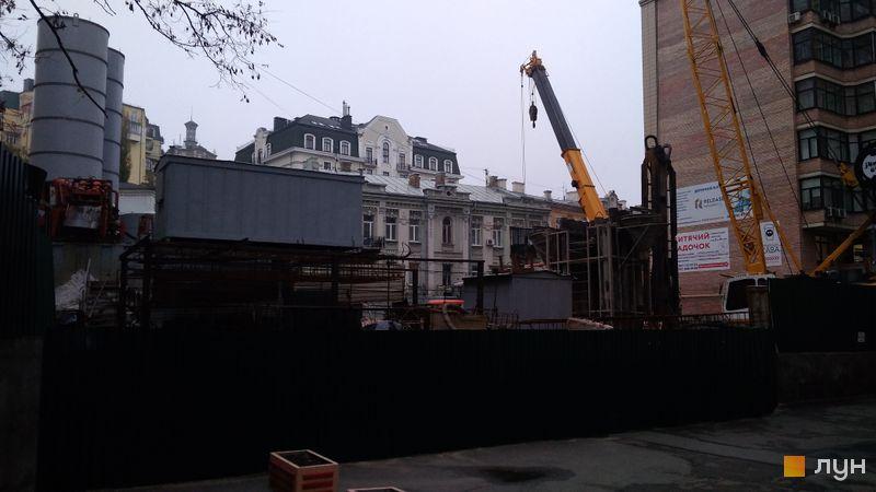 Хід будівництва ЖК Krauss Gallery, , листопад 2020