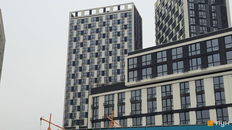 Хід будівництва ЖК Славутич 2.0, 4 будинок, листопад 2020
