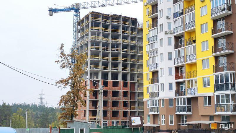 Хід будівництва ЖК Велесгард, 5 будинок, листопад 2020