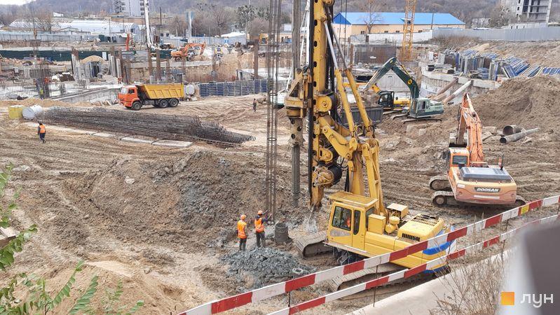 Ход строительства ЖК Fjord, , ноябрь 2020