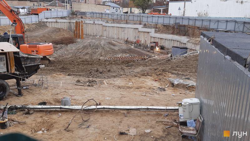 Ход строительства ЖК Delrey, , ноябрь 2020