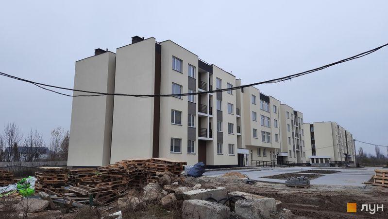Ход строительства ЖК PARKLAND, дом Smart 15, ноябрь 2020