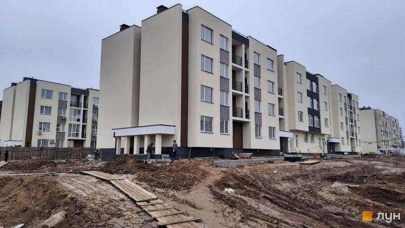 Ход строительства ЖК PARKLAND, дом Smart 8, ноябрь 2020