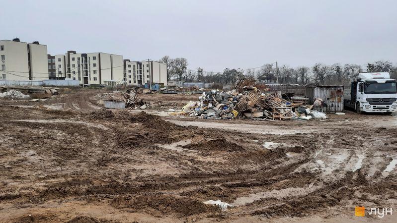 Ход строительства ЖК PARKLAND, , ноябрь 2020
