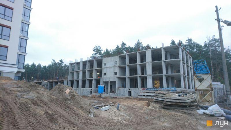 Хід будівництва ЖК На Прорізній 2, 2 будинок (секція 3), листопад 2020