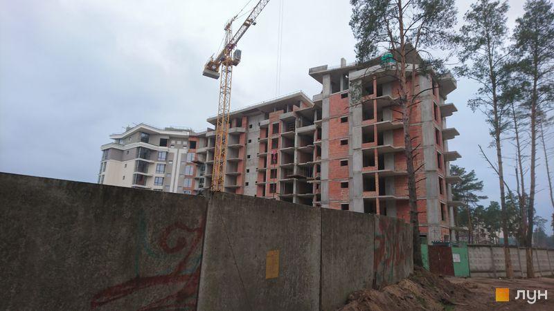 Хід будівництва ЖК На Прорізній 2, 1 будинок (секції 1-3), листопад 2020