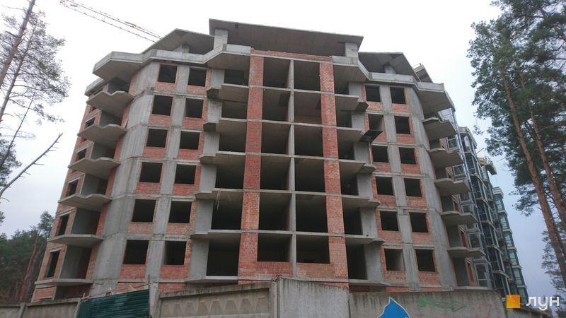 Хід будівництва ЖК На Прорізній 2, 1 будинок (секція 3), листопад 2020