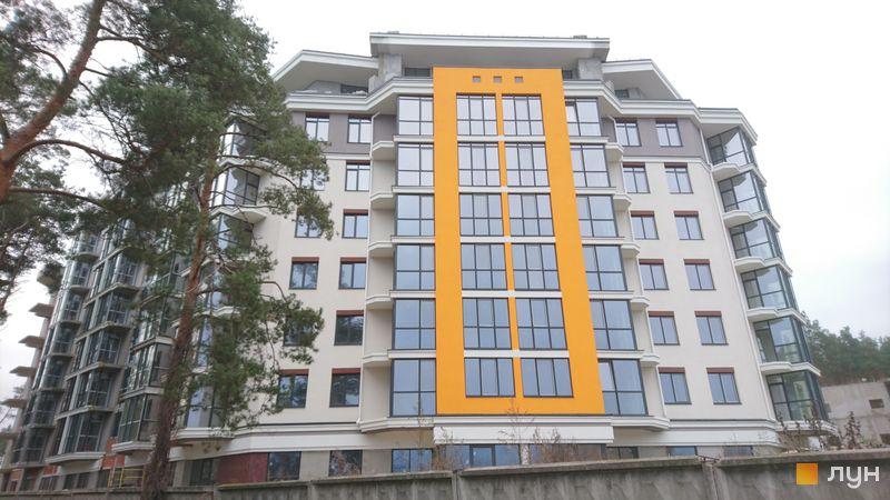 Хід будівництва ЖК На Прорізній 2, 1 будинок (секція 1), листопад 2020
