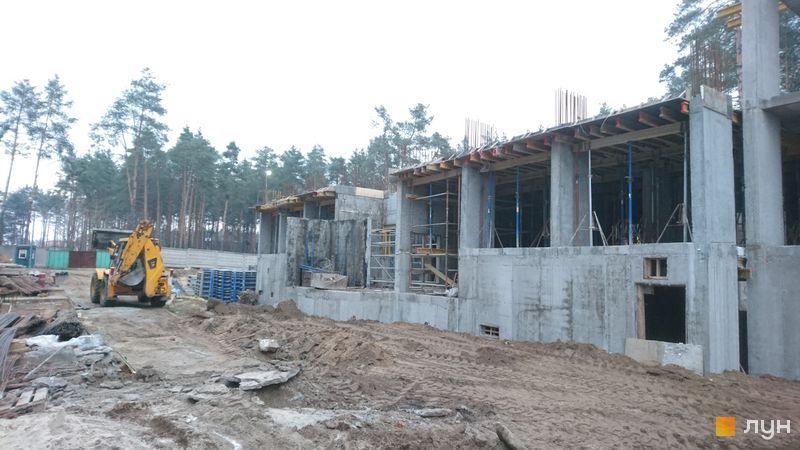Хід будівництва ЖК На Прорізній 2, 2 будинок (секція 2), листопад 2020