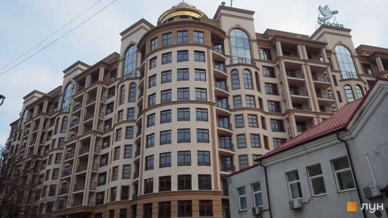 Хід будівництва ЖК 52 Перлина (Pechersk Plaza), 3-5 секції, листопад 2020