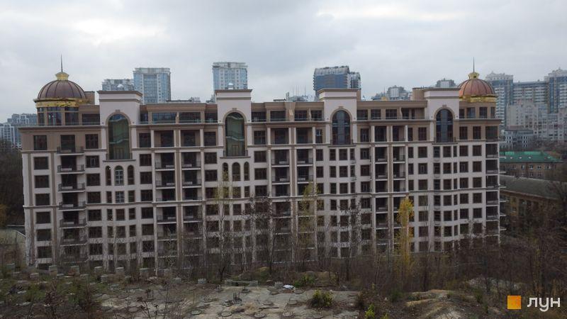Хід будівництва ЖК 52 Перлина (Pechersk Plaza), 7, 9-10 секції, листопад 2020
