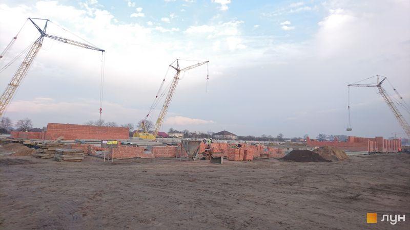 Хід будівництва ЖК Family-2, 1 будинок, листопад 2020