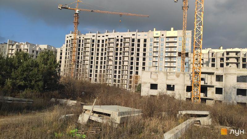 Хід будівництва ЖК Чайка, вул. Лобановського, 30 (секції А, Б, В), листопад 2020