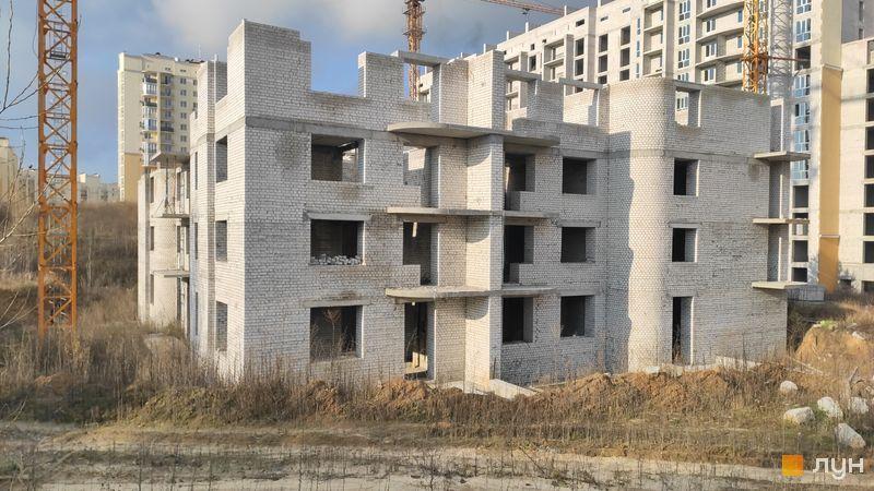 Хід будівництва ЖК Чайка, ул. Лобановского, 36, листопад 2020