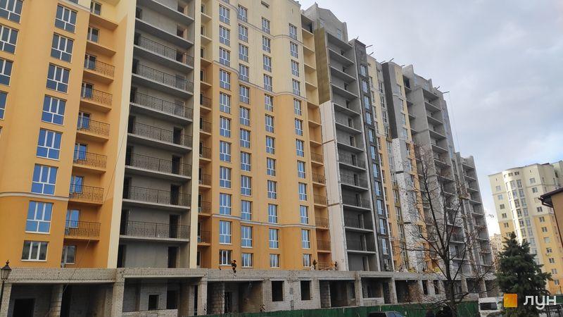 Хід будівництва ЖК Чайка, вул. Лобановського, 30 (секції Б, В), листопад 2020