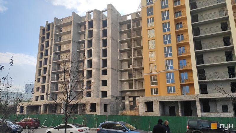 Хід будівництва ЖК Чайка, ул. Лобановского, 30 (секция В), листопад 2020