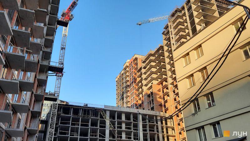 Ход строительства ЖК Mirax, 4 дом, декабрь 2020