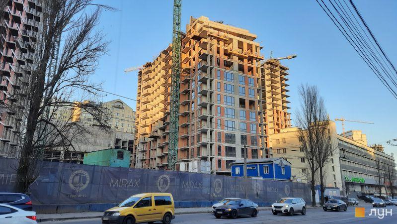 Ход строительства ЖК Mirax, 3 дом, декабрь 2020