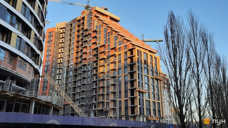 Ход строительства ЖК Mirax, 2 дом, декабрь 2020