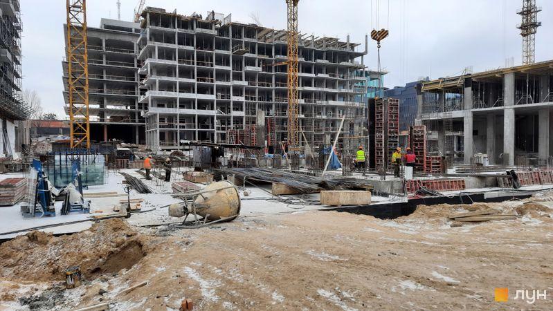 Хід будівництва ЖК UNIT.Home, Будинок А05, грудень 2020
