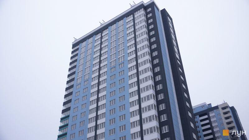 Ход строительства ЖК Скай Сити, 1 дом, декабрь 2020