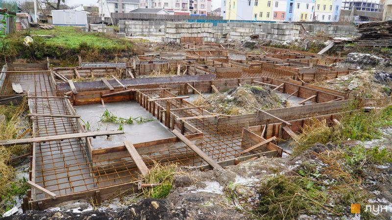 Ход строительства ЖК Покровский, 7 дом (№73Б/9), декабрь 2020