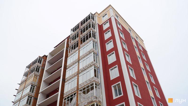 Ход строительства ЖК Покровский, 5 дом (№73Б-7), декабрь 2020