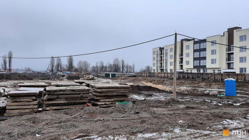 Ход строительства ЖК PARKLAND, , декабрь 2020