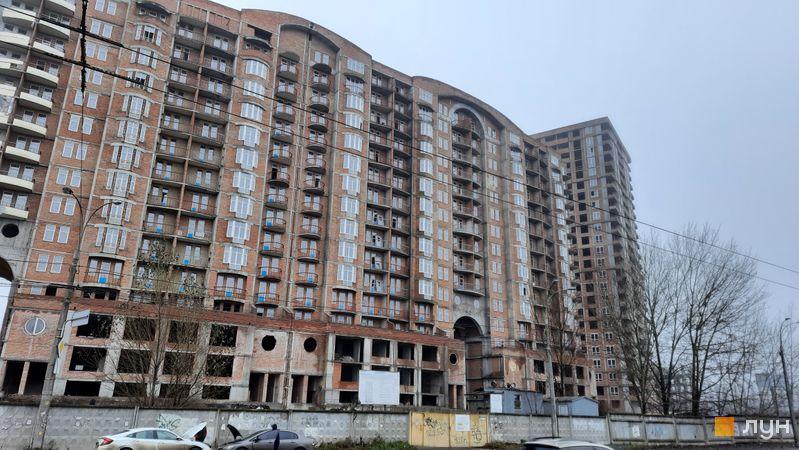 Ход строительства ЖК Эврика, 3 дом, декабрь 2020