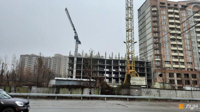 Ход строительства ЖК Эврика, 2 дом, декабрь 2020
