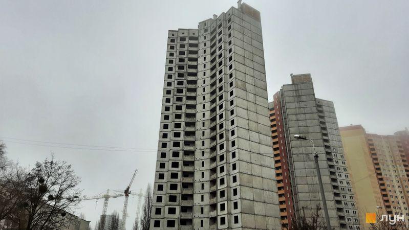 Ход строительства ЖК Эврика, 17 дом, декабрь 2020