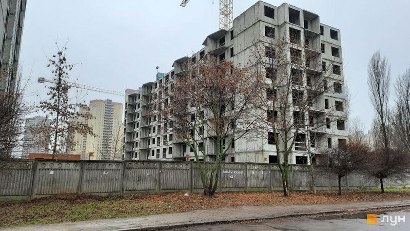 Ход строительства ЖК Эврика, 20 дом, декабрь 2020