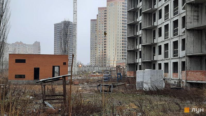 Ход строительства ЖК Эврика, 9 дом, декабрь 2020