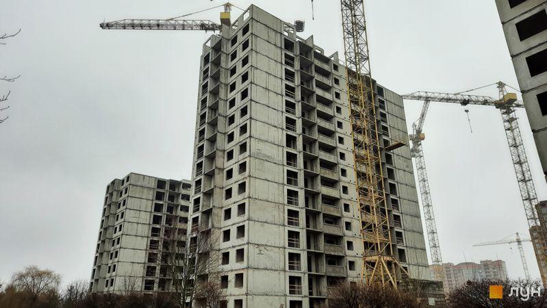 Ход строительства ЖК Эврика, 24 дом, декабрь 2020