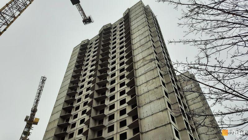 Ход строительства ЖК Эврика, 23 дом, декабрь 2020