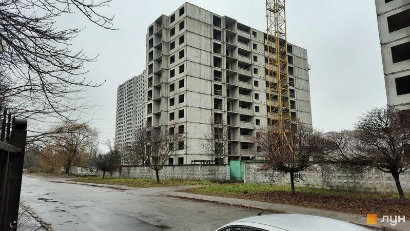 Ход строительства ЖК Эврика, 25 дом, декабрь 2020