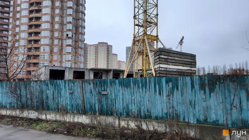 Ход строительства ЖК Эврика, 19 дом, декабрь 2020