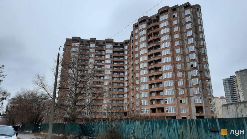 Ход строительства ЖК Эврика, 4 дом, декабрь 2020