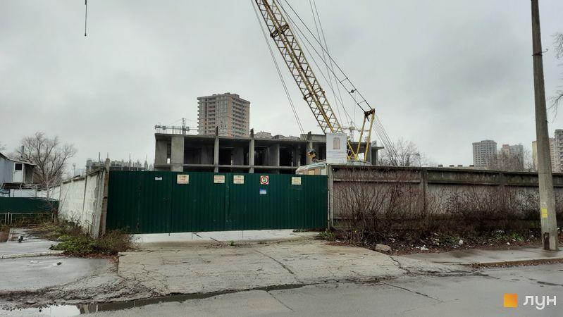 Ход строительства ЖК Эврика, 28 дом, декабрь 2020