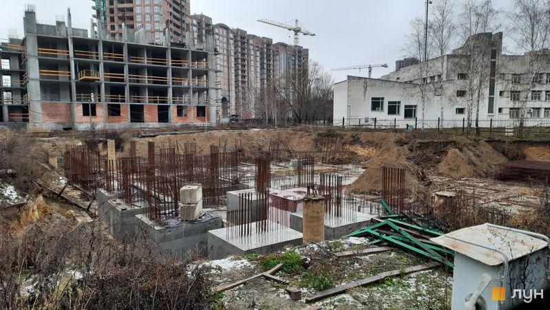 Ход строительства ЖК Эврика, 30 дом, декабрь 2020