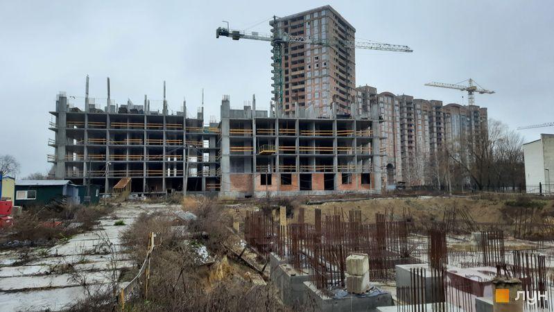 Ход строительства ЖК Эврика, 31 дом, декабрь 2020