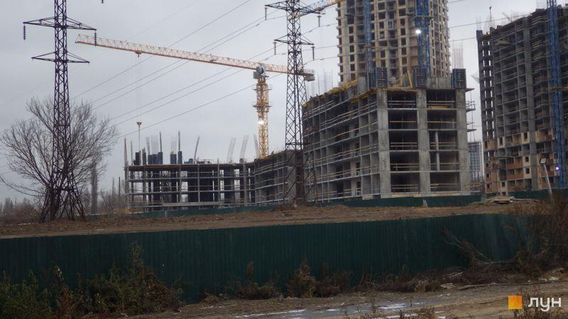 Хід будівництва ЖК Сирецькі сади, 6 будинок, грудень 2020