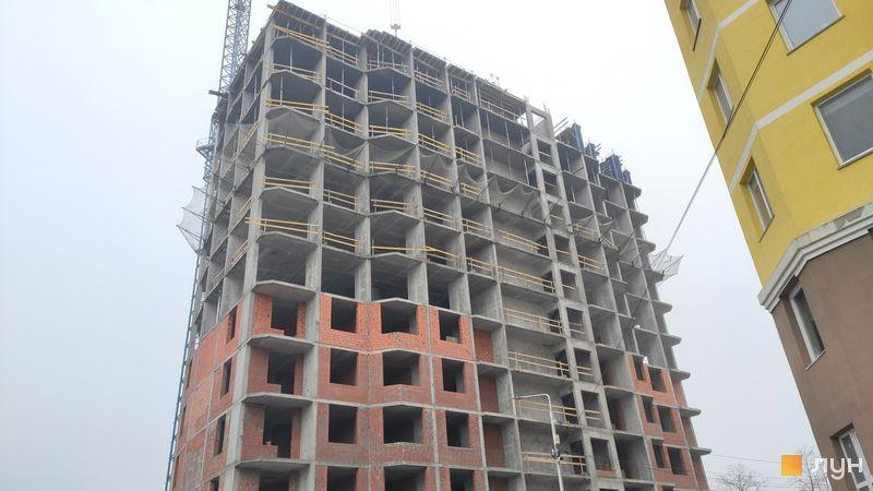 Хід будівництва ЖК Велесгард, 5 будинок, грудень 2020