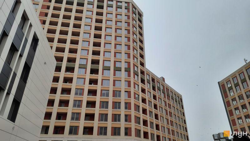 Ход строительства ЖК San Francisco Creative House, 2 дом, декабрь 2020