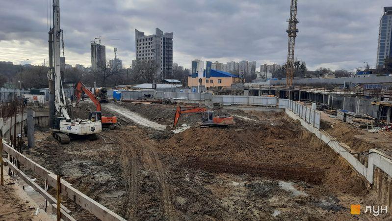 Ход строительства ЖК Delrey, , декабрь 2020