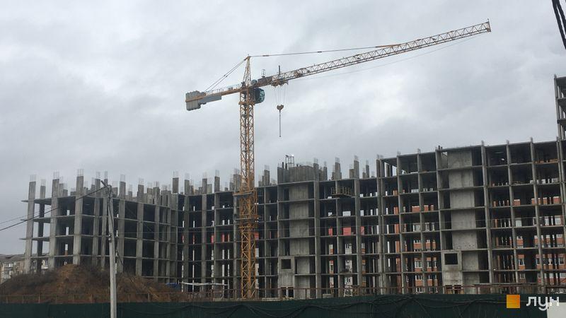 Ход строительства ЖК Новые Теремки, 4 очередь (дома 15-18), декабрь 2020