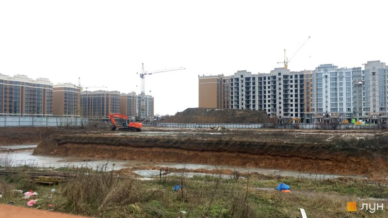 Ход строительства ЖК Новые Теремки, 5 очередь (дома 21-24), декабрь 2020