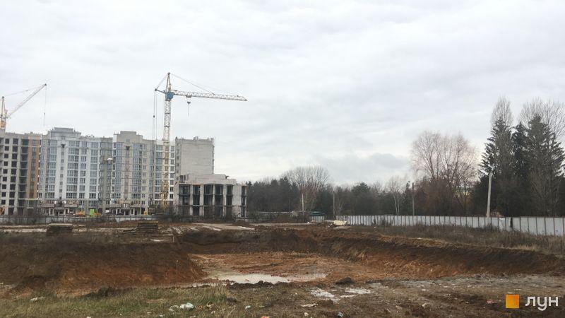 Ход строительства ЖК Новые Теремки, 5 очередь (дома 24-25), декабрь 2020