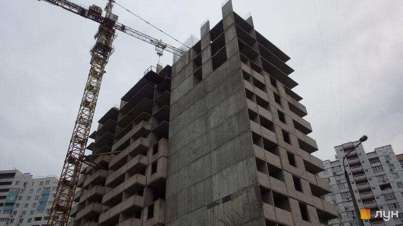 Хід будівництва ЖК Перспектива, 4 секція, грудень 2020