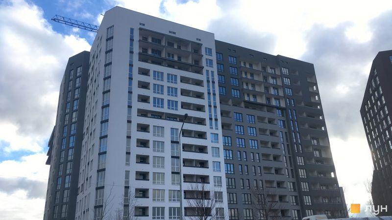 Хід будівництва ЖК Paradise Avenue, 6 будинок, грудень 2020